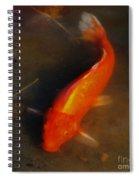 Secrets Of The Wild Koi 5 Spiral Notebook