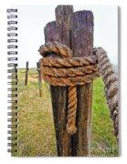 Secured Against The Fog Spiral Notebook