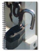 Security Spiral Notebook