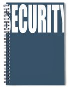 Security Spiral Notebook