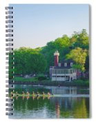 Sedgeley Club - Boathouse Row Spiral Notebook