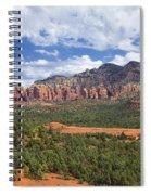 Sedona Arizona Landscape Spiral Notebook