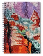 Sedona Arizona Rocky Canyon Spiral Notebook