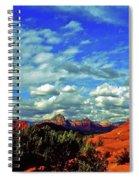 Sedona Capitol Butte Spiral Notebook