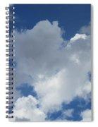 Sedona Heart Cloud Spiral Notebook