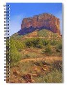 Sedona Landscape - 1 - Arizona Spiral Notebook