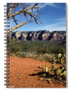 Sedona Overlook Spiral Notebook