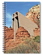 Sedona - The Chapel Of The Holy Cross Spiral Notebook
