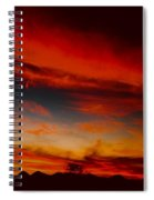 Seductive Seven Sisiters Spiral Notebook