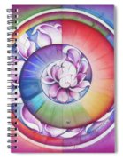Seed Of Life - Mandala Of Divine Creation Spiral Notebook