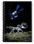 Seeing Eye To Eye Spiral Notebook