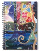 Seeking Wisdom Spiral Notebook