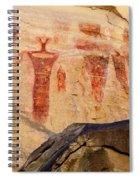 Sego Petroglyphs Utah 3 Spiral Notebook