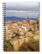 Segovia Cathedral View Spiral Notebook