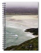 Seilebost Beach Spiral Notebook