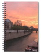 Seine River Spiral Notebook