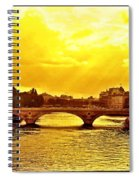 Seine View Spiral Notebook