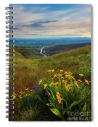 Selah Spring Sunset Spiral Notebook