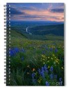 Selah Sunset Spiral Notebook
