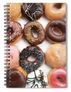 Selection Of Doughnut Spiral Notebook