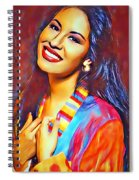 Selena Queen Of Tejano  Spiral Notebook