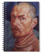 Self 2 1926-1927 Kuzma Sergeevich Petrov-vodkin Spiral Notebook