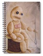 Self Infliction Spiral Notebook