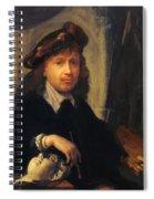Self Portrait 1635 Spiral Notebook