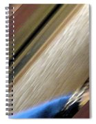 Self-portrait Abstract Spiral Notebook