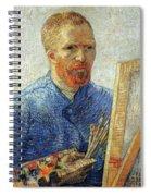 Self Portrait As An Artist Spiral Notebook
