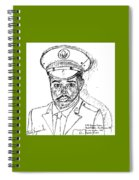 Self Portrait As Soldier Spiral Notebook