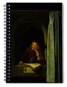 Self Portrait Spiral Notebook