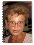 self portrait II Spiral Notebook
