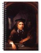Self Portrait In A Window Spiral Notebook