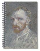 Self-portrait Paris, July   August 1887 Vincent Van Gogh 1853  1890 Spiral Notebook