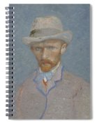 Self-portrait Paris  Summer 1887 Vincent Van Gogh 1853  1890 Spiral Notebook