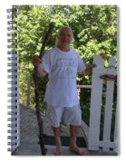 Self Portrait Two - After The Jungle Rescue In Costa Rica Spiral Notebook