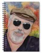 Self Portrait With Sunglasses Spiral Notebook