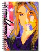 Self Portraiture Digital Art Photography Spiral Notebook