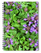 Selfheal In The Lawn Spiral Notebook