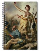 Selfie, Stupidity Leading The People Spiral Notebook