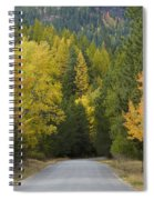 Selkirk Color Spiral Notebook