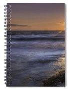 Selkirk Shores Sunset Spiral Notebook