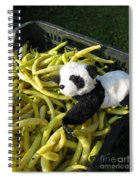 Selling Beans Spiral Notebook