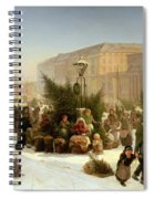 Selling Christmas Trees Spiral Notebook