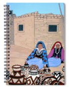 Selling Pots Spiral Notebook