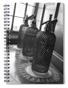 Seltzer Bottles Spiral Notebook