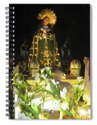 Semana Santa Procession Night Spiral Notebook