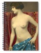 Semin Nude Girl Spiral Notebook
