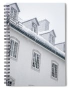 Seminary Of Quebec City In Old Town Spiral Notebook